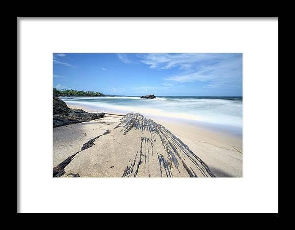 Beach Framed Print featuring the photograph Toco Beach by Nadia Sanowar