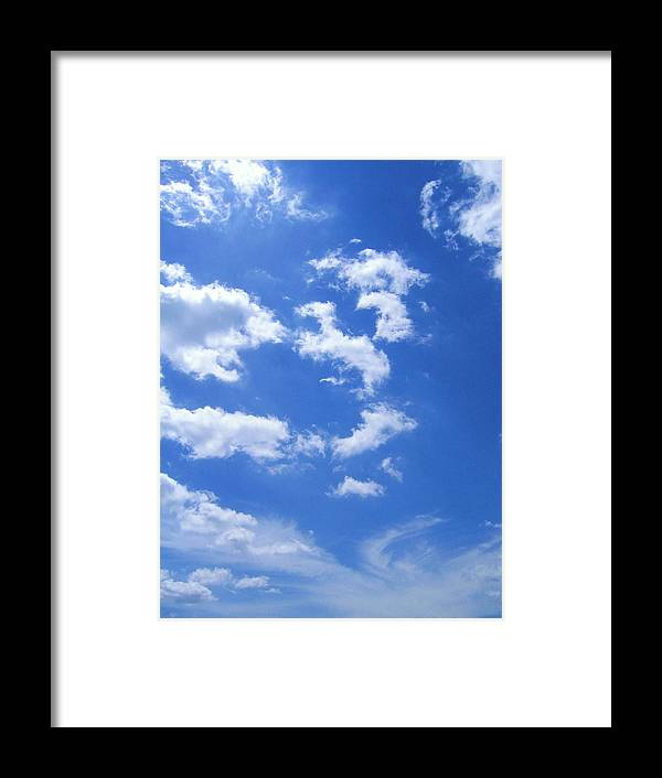 Cloud Framed Print featuring the photograph Today by Richard Hubal