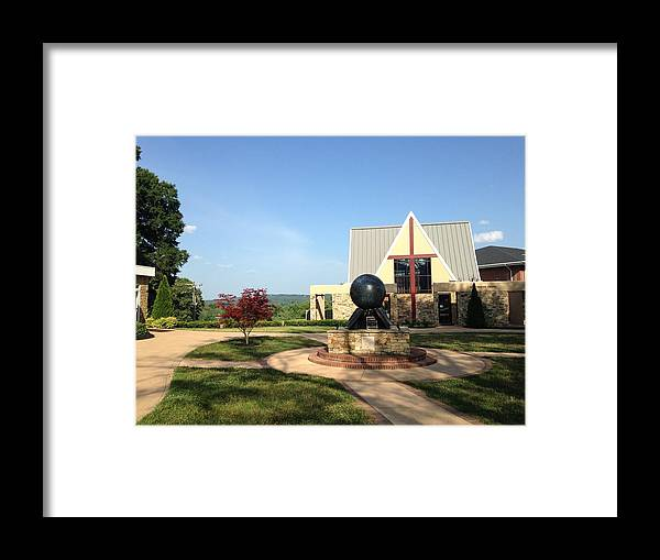 Framed Print featuring the photograph Todd Prayer Chapel by Avery French