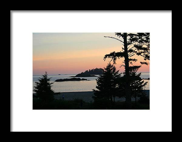 Sunset Framed Print featuring the photograph Tofino Sunset II Ss 1027 by Mary Gaines