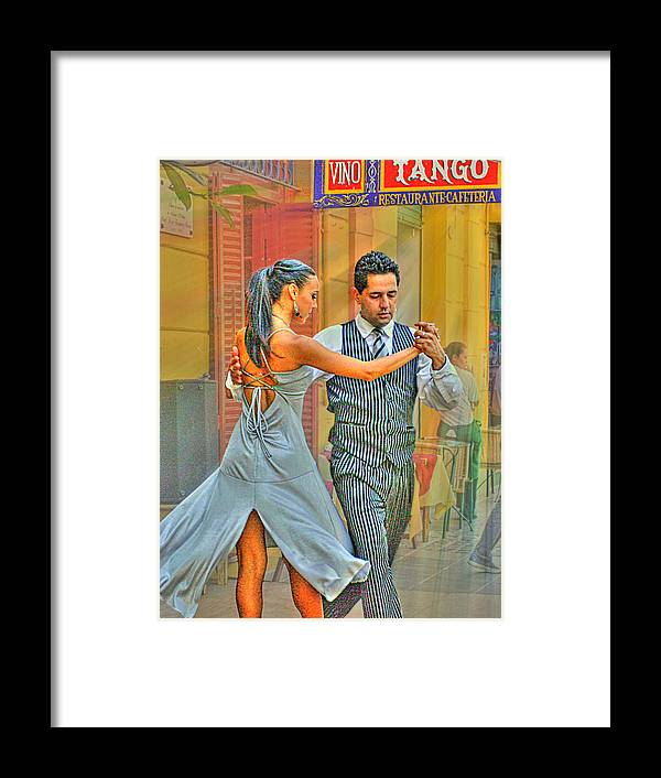 Tango Framed Print featuring the photograph Too Tango by Francisco Colon