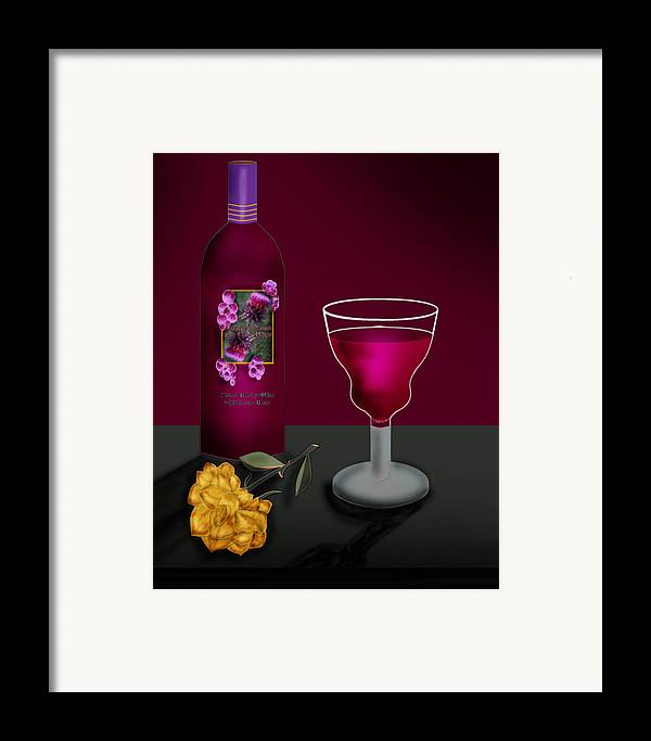 Still Life Framed Print featuring the painting Tools Of The Trade by Anne Norskog
