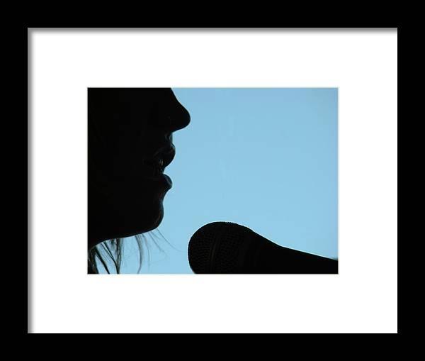Al Bourassa Framed Print featuring the photograph Torch Singer by Al Bourassa