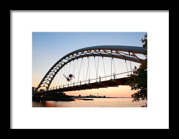 Toronto Framed Print featuring the photograph Toronto Morning by Songquan Deng