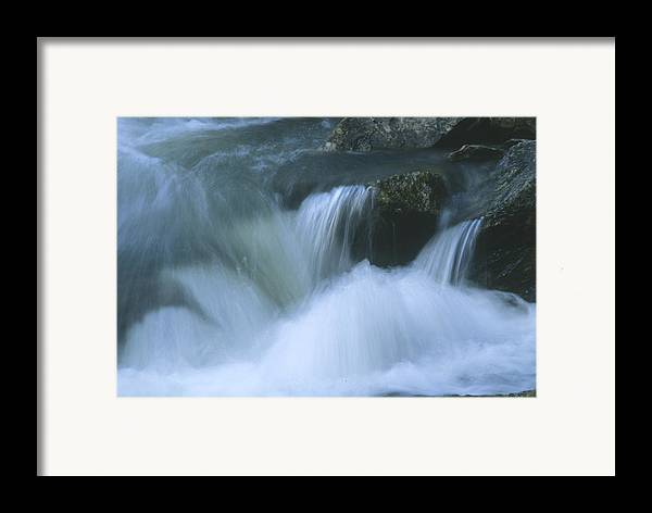 Water Framed Print featuring the photograph Torrent by Lynard Stroud