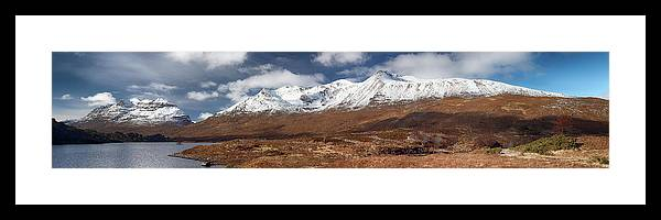 Pano Framed Print featuring the photograph Torridon Panorama by Grant Glendinning