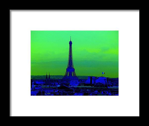 Eiffel Tower Framed Print featuring the photograph Tour Eiffel by Aline Kala