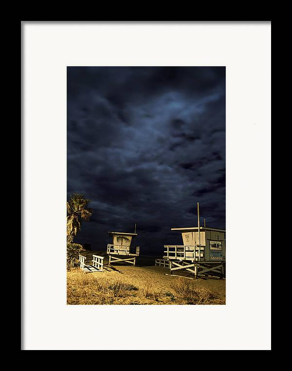 Framed Print featuring the photograph Towers by Robert Larson