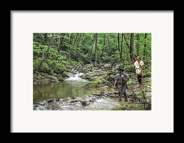 War Framed Print featuring the digital art Tracking An Elusive Enemy by Randy Steele