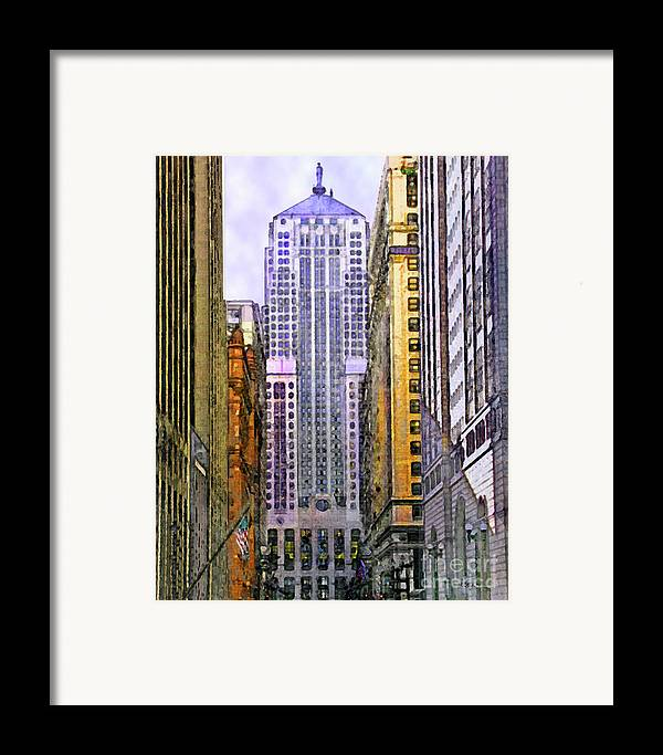 Trading Places Framed Print featuring the digital art Trading Places by John Beck