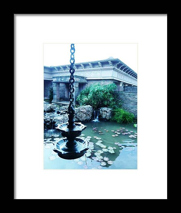 Photography Framed Print featuring the photograph Traditional Lamp by Piety Dsilva