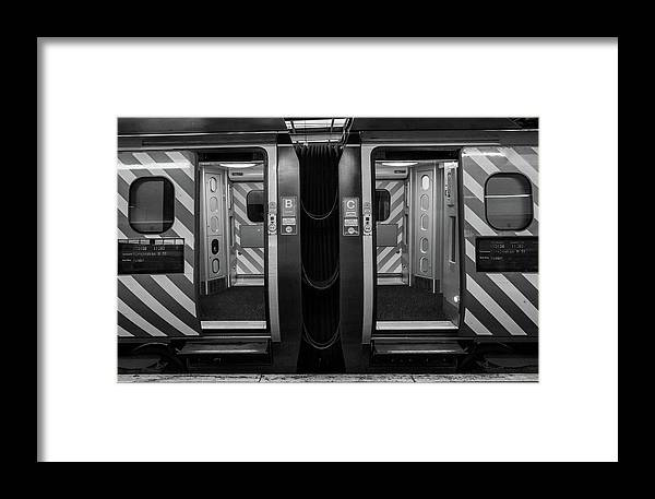 Train Framed Print featuring the photograph Train by KonTrasts