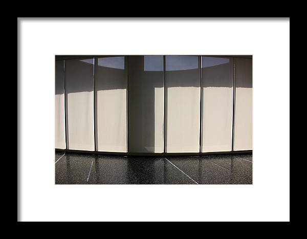 Space Framed Print featuring the photograph Inside Tranquil Space by Cora Wandel
