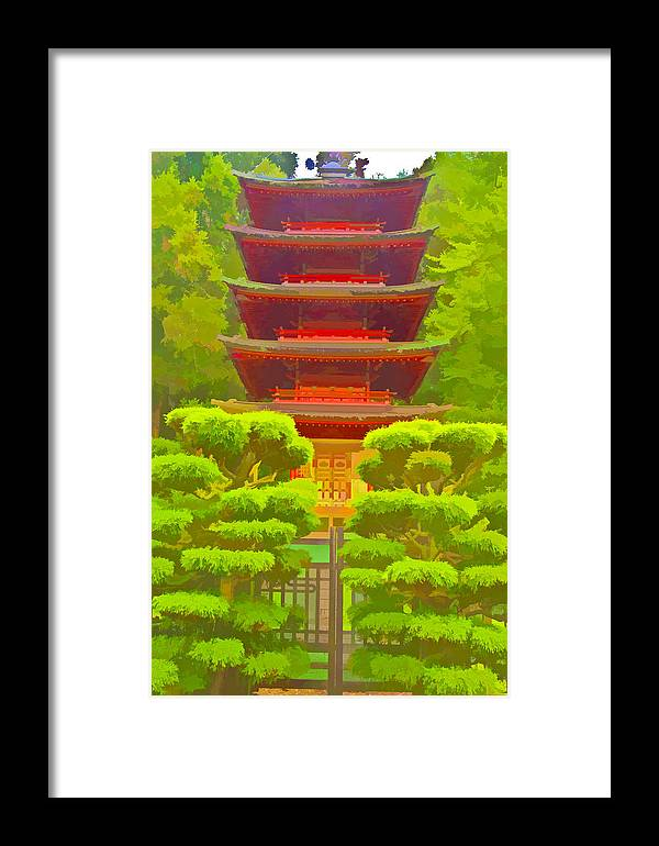 San Francisco Framed Print featuring the photograph Treasure Tower by Ches Black