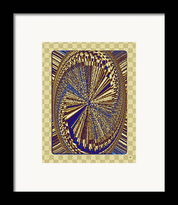 Treasure Trove Framed Print featuring the digital art Treasure Trove Beyond by Will Borden