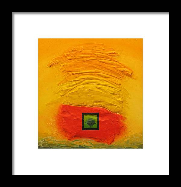 Tree Framed Print featuring the painting Tree by David McKee