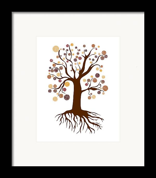 Frank Tschakert Framed Print featuring the painting Tree by Frank Tschakert