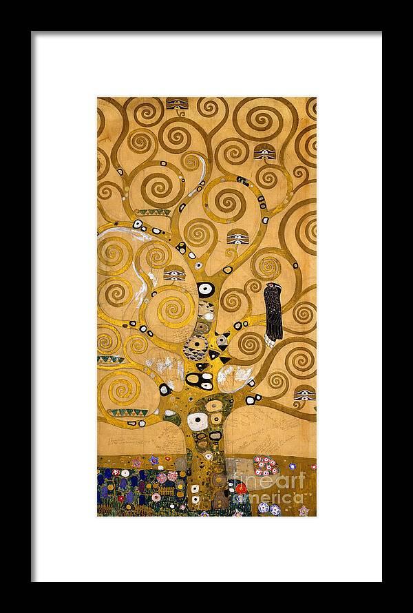Klimt Framed Print featuring the painting Tree Of Life by Gustav Klimt