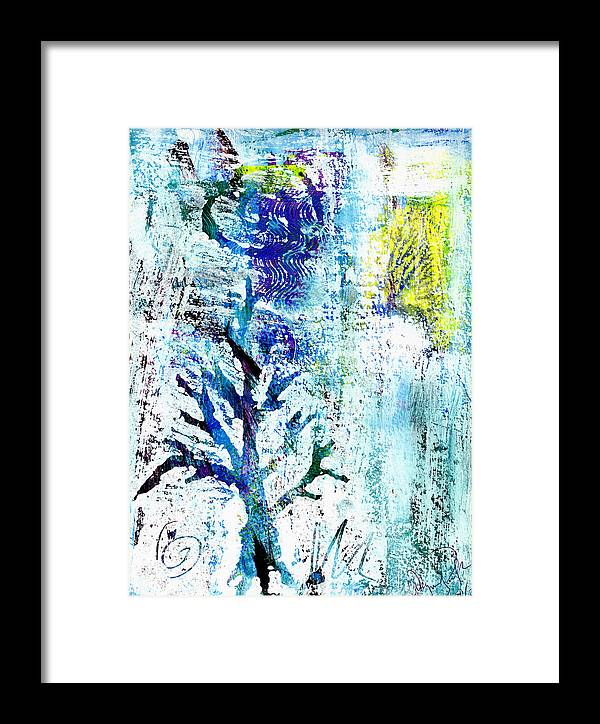 Tree Framed Print featuring the painting Tree Of Life by Wayne Potrafka
