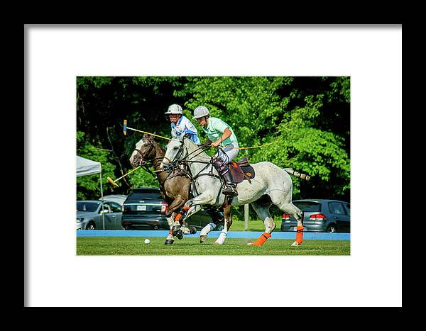Banbury Cross Framed Print featuring the photograph Trevor 1 by Sarah M Taylor