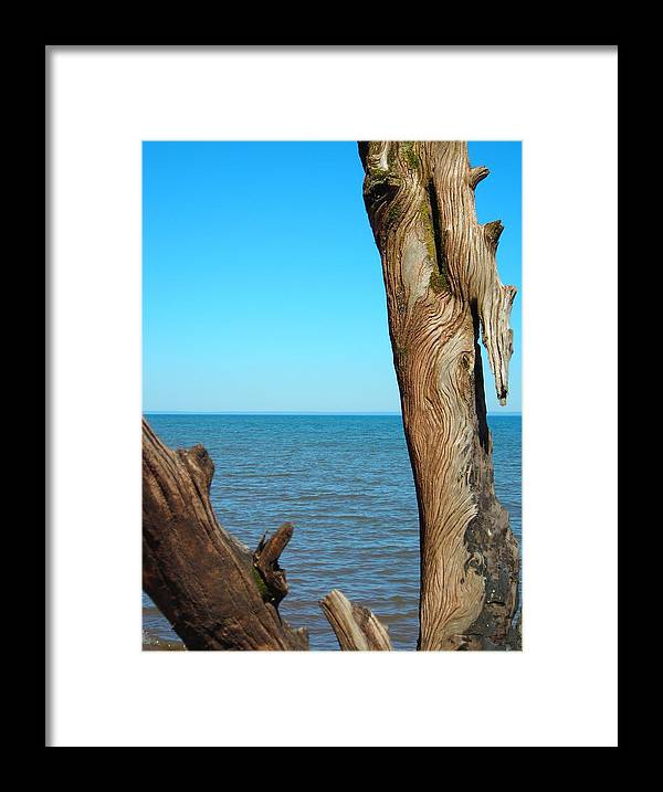 Ocean Framed Print featuring the photograph Tribal Markings by Peter Mowry