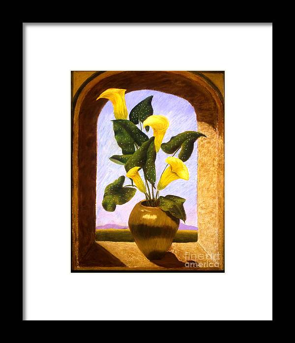 Still Life Framed Print featuring the painting Tribute To The Dutch Masters by Mary Erbert