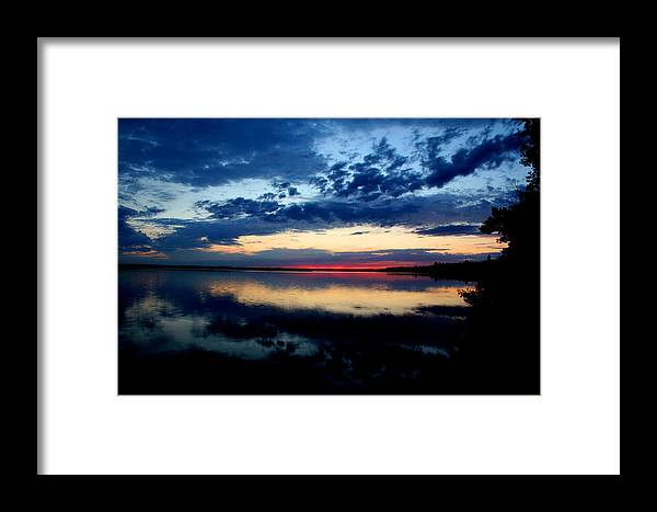 Sunsets Framed Print featuring the photograph True North by Taylor Howe