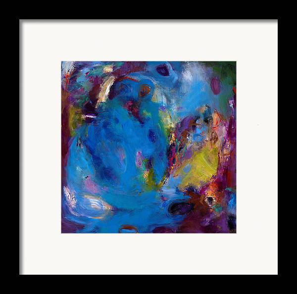 Abstract Expressionistic Framed Print featuring the painting Truth In Dreams II by Johnathan Harris
