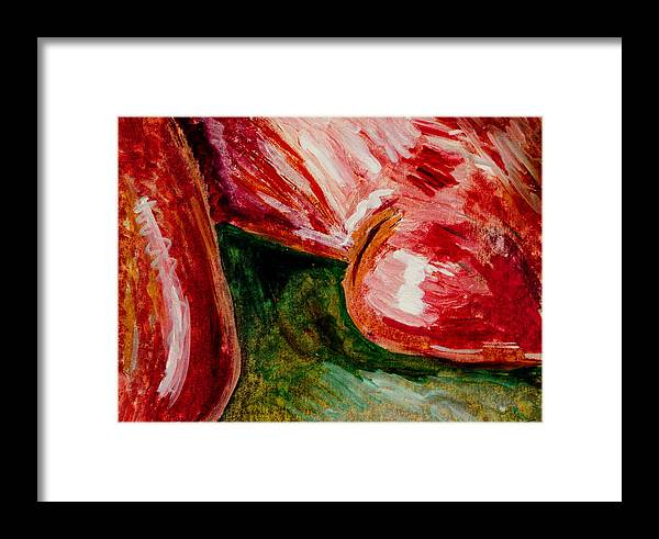 Nude Figger Framed Print featuring the painting Ts St by John Toxey