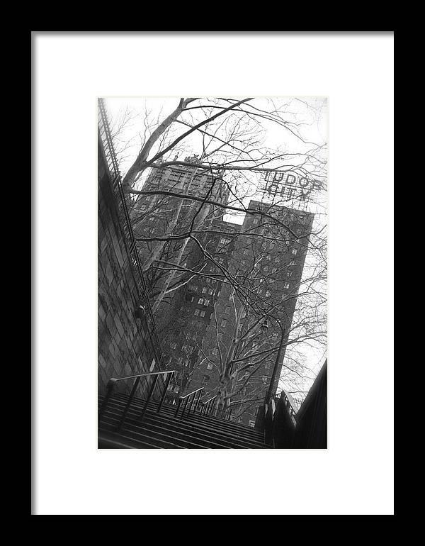 Tudor City Framed Print featuring the photograph Tudor City by Henri Irizarri