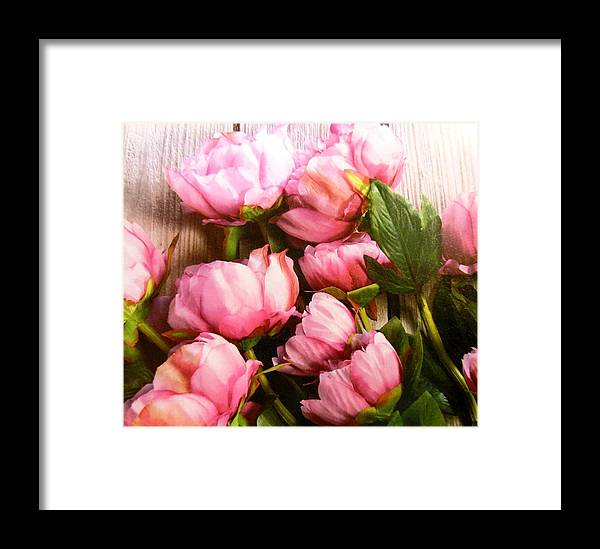 Flowers Framed Print featuring the photograph Tulips by Lord Frederick Lyle Morris - Disabled Veteran