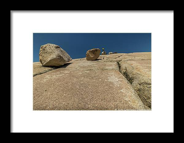 Yosemite Framed Print featuring the photograph Tumbling Boulders by Ronald Greenberg