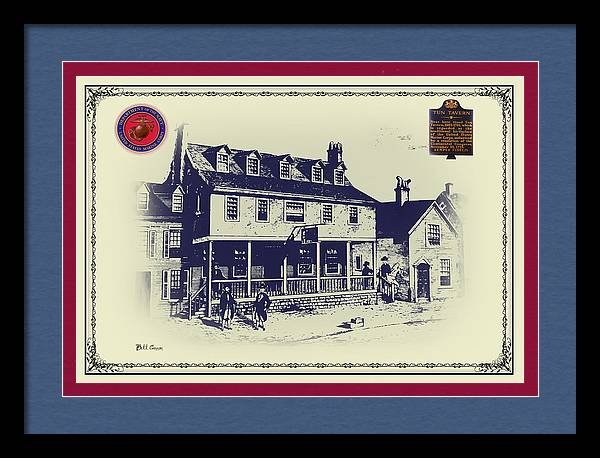 Tun Tavern - Birthplace of the Marine Corps by Bill Cannon