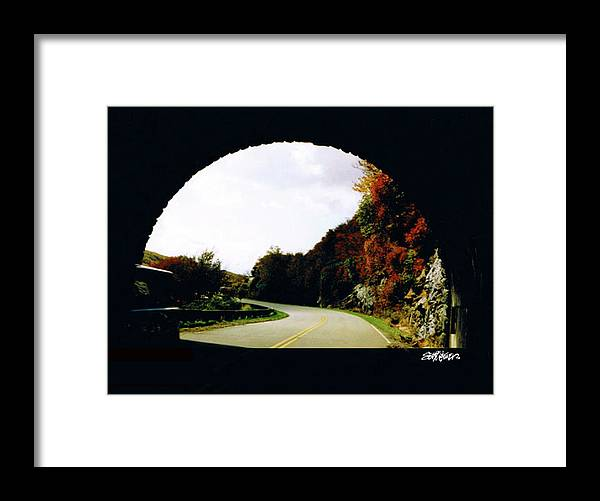 Tunnel Vision Framed Print featuring the photograph Tunnel Vision by Seth Weaver