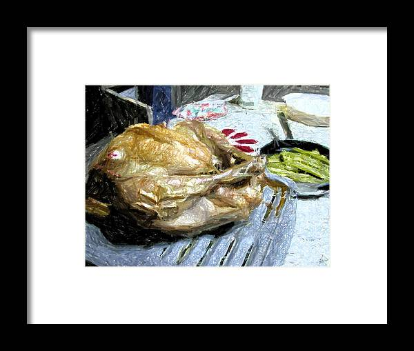 Holiday Framed Print featuring the photograph Turkey by Michael Morrison