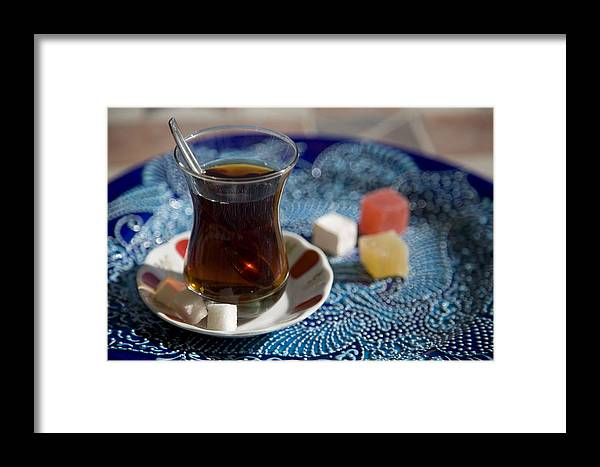 Turkey Framed Print featuring the photograph Turkish Tea by Steve Outram