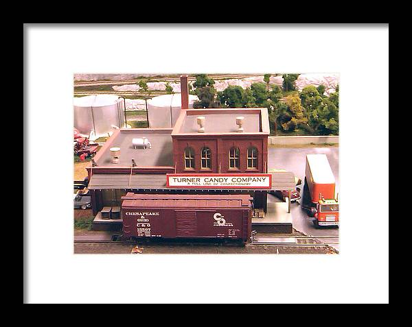 Pat Turner Framed Print featuring the photograph Turner Candy Company by Pat Turner