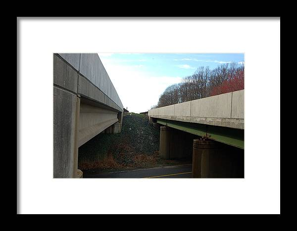 New Jersey Framed Print featuring the photograph Turnpike Perceptions by Heather S Huston