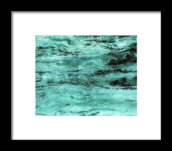 Paul Tokarski Framed Print featuring the photograph Turquoise Water by Paul Tokarski