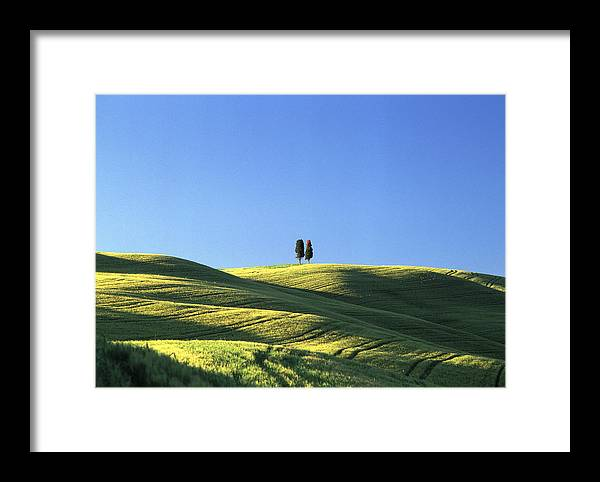 Tuscany Framed Print featuring the photograph Tuscan Evening by Michael Hudson