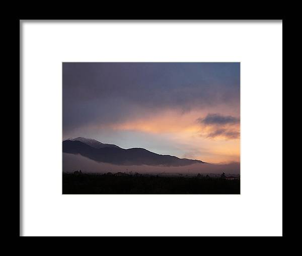 Framed Print featuring the photograph Twilight Dreams by Andonis Katanos