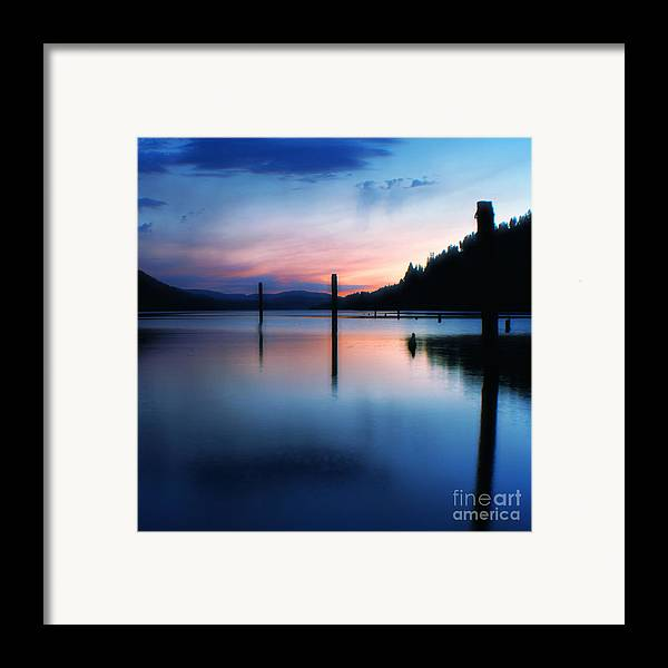 Dusk Framed Print featuring the photograph Twilight by Idaho Scenic Images Linda Lantzy