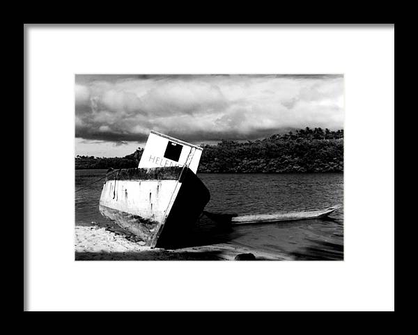 Boat Framed Print featuring the photograph Two Boats by Amarildo Correa