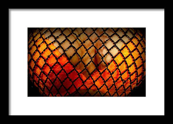 Hot Framed Print featuring the photograph Two Handfuls Of Oranges by Guy Pettingell
