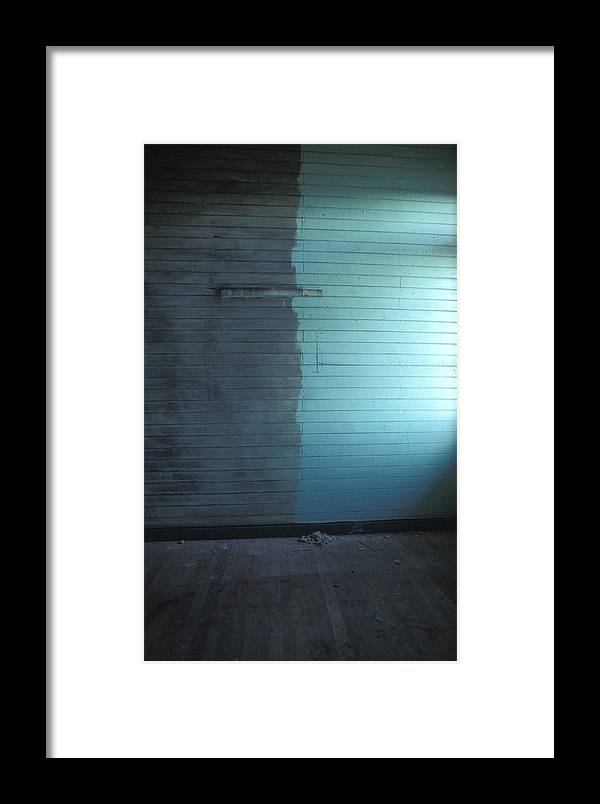Chile Framed Print featuring the photograph Two Tone Wall by Marcus Best
