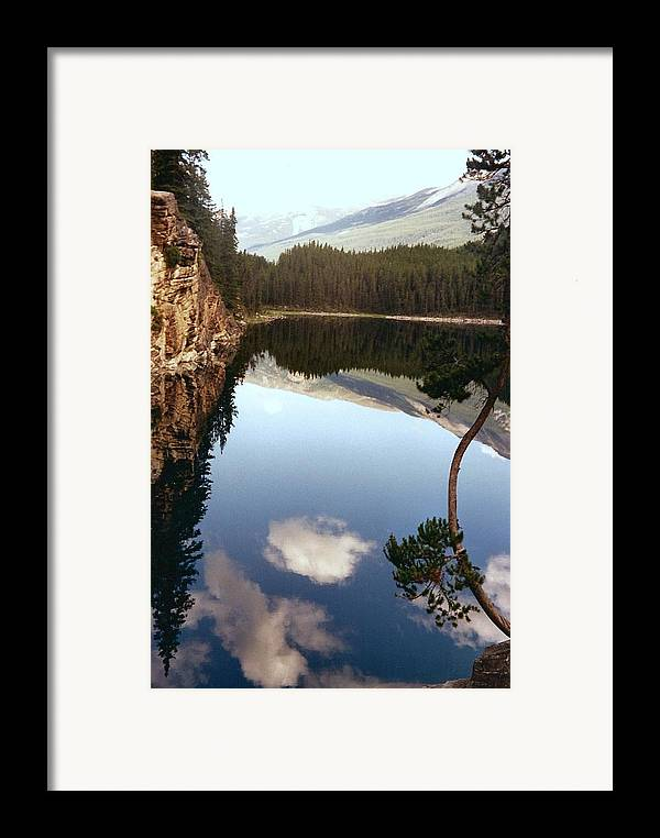 Mountains Framed Print featuring the photograph Ultimate Reflection by Shirley Sirois