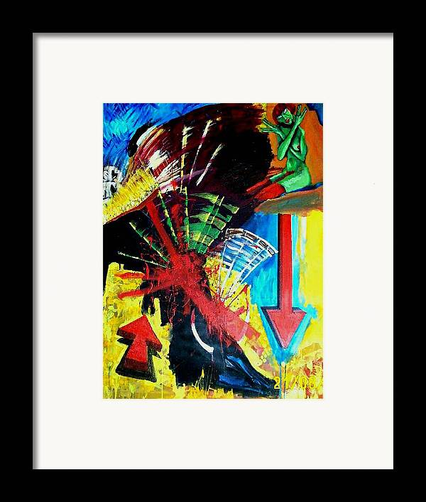 Painting Framed Print featuring the painting Una Tarde En Sevilla by Elio Lopez