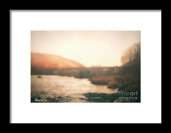 Martelle Framed Print featuring the painting Unauthorized Youth by Martelle Jones