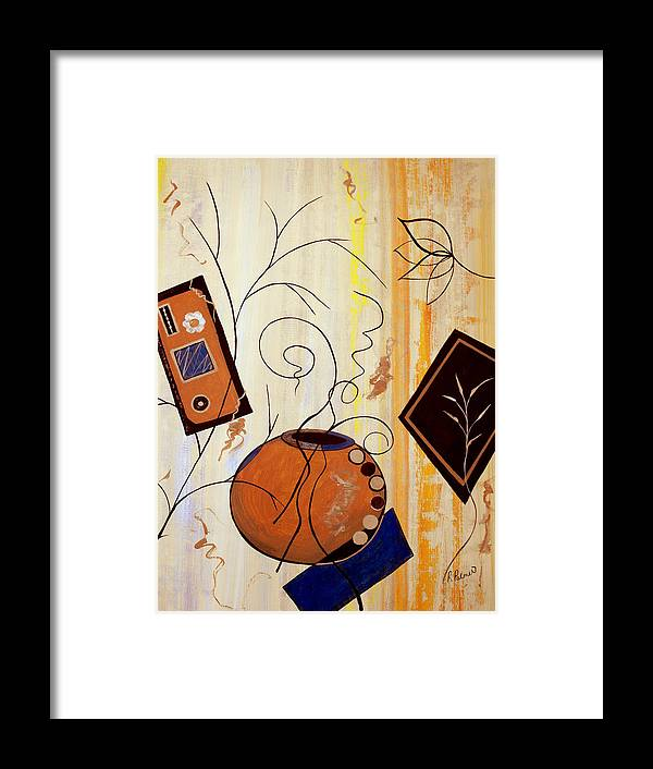 ruth Palmer Framed Print featuring the painting Unconstrained by Ruth Palmer
