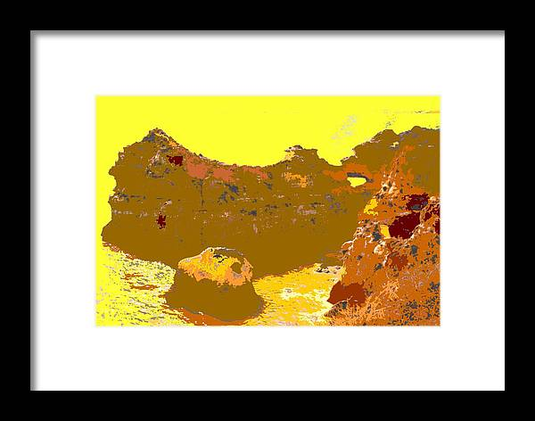 Mediterranean Framed Print featuring the photograph Under A Portugese Sun by Ian MacDonald